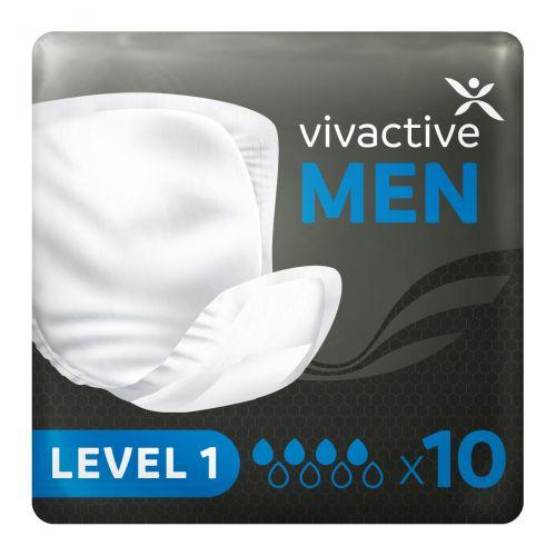 Vivactive Men Level 1 Pads (385ml) 10 Pack - mobile