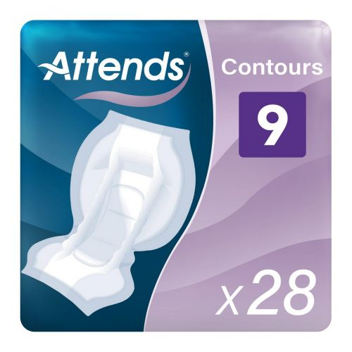 Attends Contours 9 (2500ml) 28 Pack - mobile