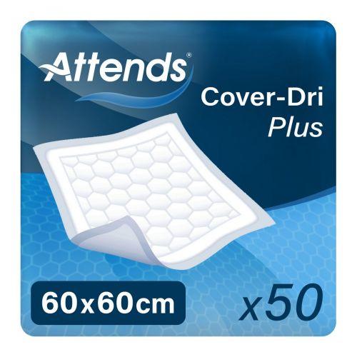 Attends Cover Dri Plus 60x60 (731ml) 50 Pack - mobile