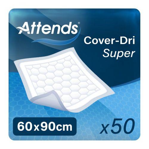 Attends Cover Dri Super 60x90 (1423ml) 50 Pack - mobile