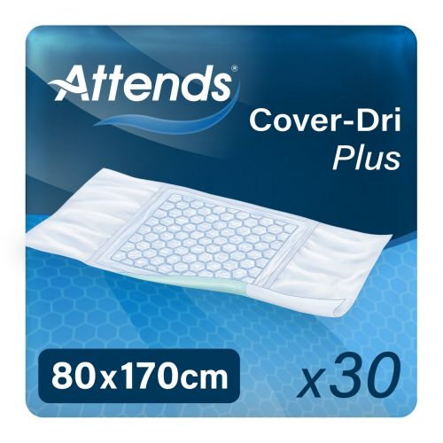 Attends Cover Dri Plus 80x170 (1783ml) 30 Pack - mobile