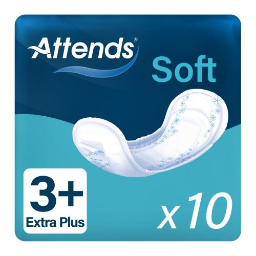 Attends Soft 3+ Extra Plus (600ml) 10 Pack - mobile
