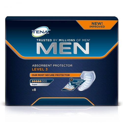 TENA Men Level 3 (710ml) 8 Pack