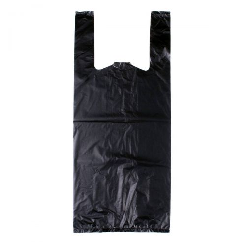 Large Black Nappy Bag - 100 Pack