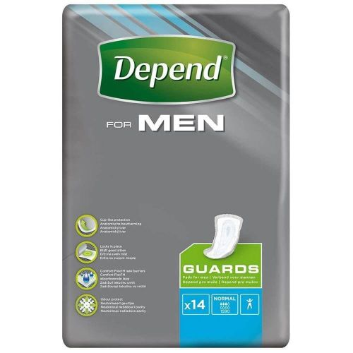 Depend Guards for Men Normal (464ml) 14 Pack
