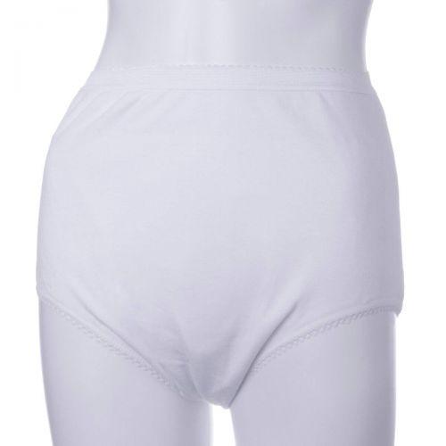 Ladies Waterproof Protective Brief - Medium - White