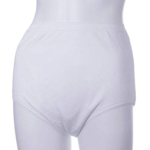 Ladies Waterproof Protective Brief - Small - White