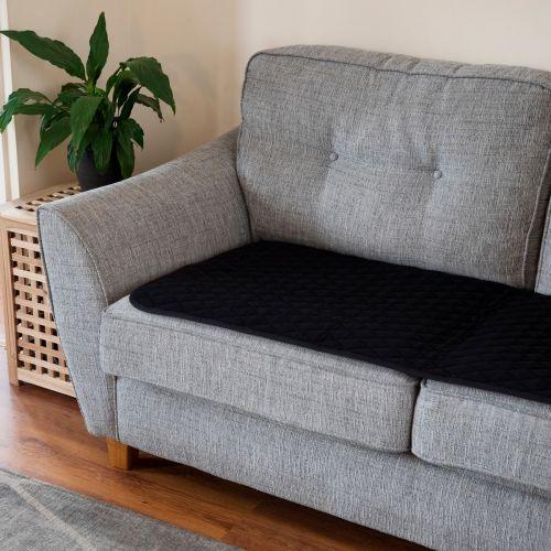 Vivactive Anti-Slip Chair Pad 120x60cm (4000ml) Black