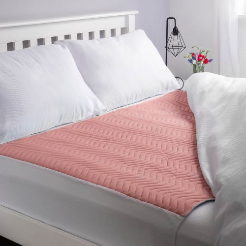 Vivactive Washable Bed Pad Pink With Tuck In Sides (4000ml) Double