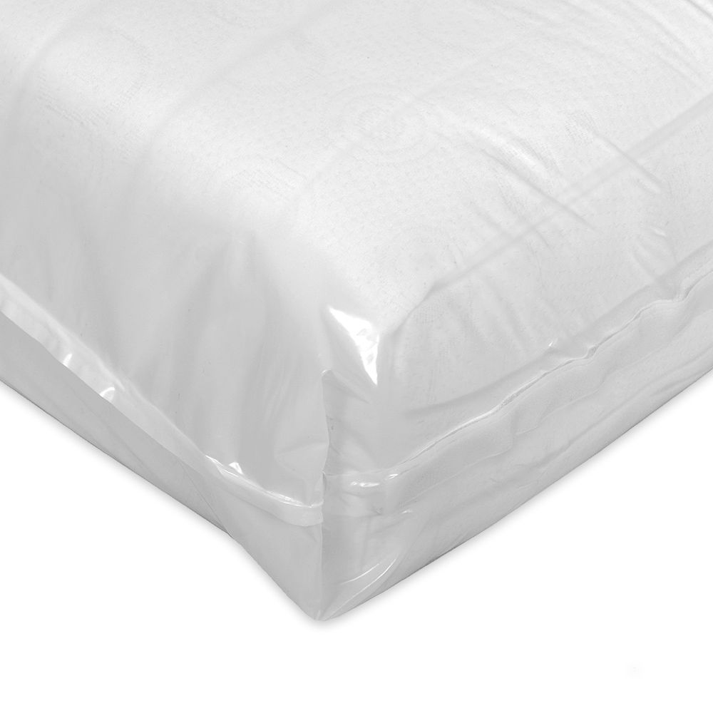 Eva Dry Smooth Encased Mattress Protector 18cm King Size Age